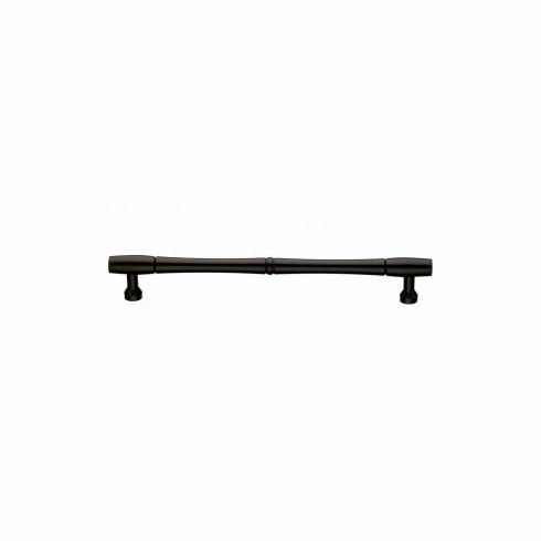 Top Knobs M797-18 NOUVEAU BAMBOO APPLIANCE PULL 18 INCH (C-C) Length: 19 31/32 in.Width: 29/32 in.Projection: 2 1/8 in.Center-to-Center*: 18 in.Base Diameter: 3/4 in Finish: Oil Rubbed Bronze