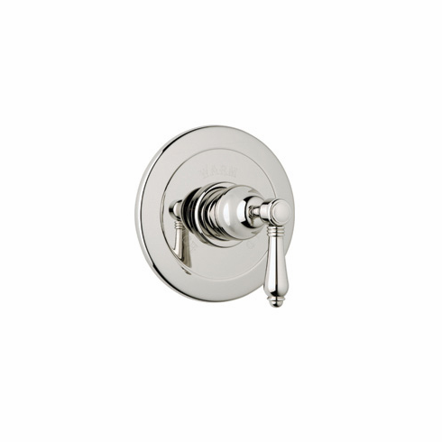 ROHL A6400XCAPC **Kit** Rohl Country Bath Trim Kit For Pressure Balance With Integrated Volume Control In Polished Chrome With Crystal Cross Handle And Without Diverter