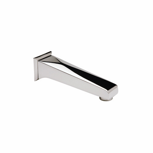 ROHL A1003PN Rohl Vincent Bath Wall Mounted Tub Spout 6 31/32^ Reach And 3/4^ Npt Inlet In Polished Nickel