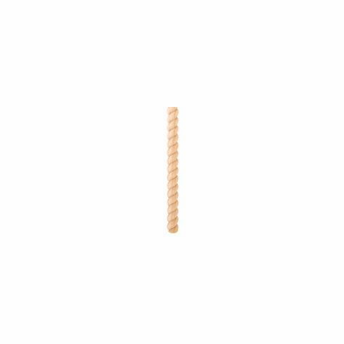 RMH58TOK-8 Tight Twist Rope Moulding Half Round (20 Each)