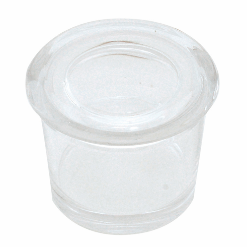 Hafele 556.92.320 Fineline Container Set, glass, with glass lids, (5 pieces)