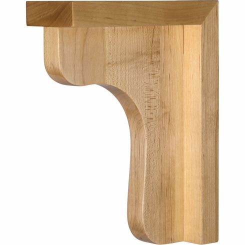 COR8-6.5-RW Wood Bar Bracket