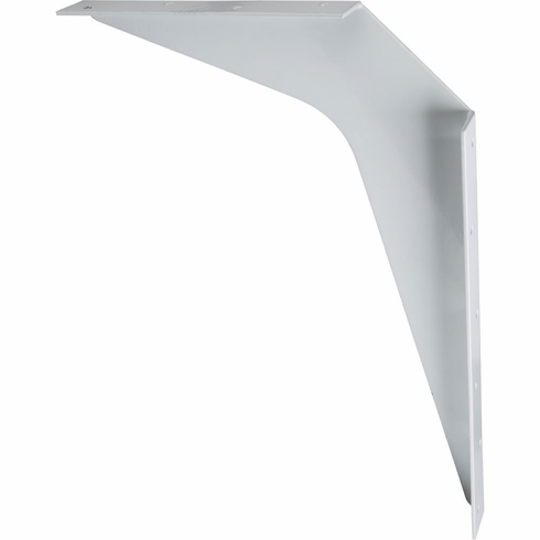 """WB8-WH 8"""" x 12"""" White Workstation Bracket Sold by the Pair (1 Pair)"""