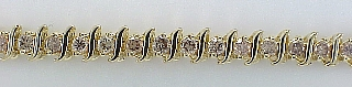 "4 1/2 Carat ""S"" Style Diamond Tennis Bracelet SOLD"