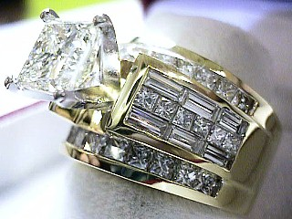 Heart Pounding 5.81 Carat Diamond Engagement Ring SOLD