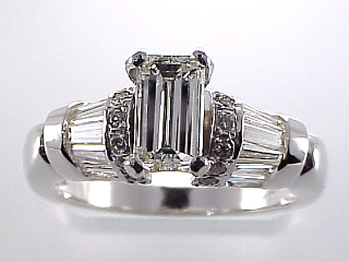 2.15 Carat Special Purchase Emerald Cut Diamond Ring SOLD