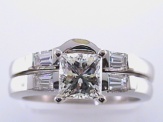 1.14 Ct GIA Certified VVS1, G Diamond Engagement Ring & Band SOLD