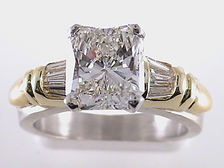 3.31 Carat Princess Cut Diamond Platinum Solitaire SOLD