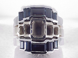 2.88 Carat Custom Sapphire Wedding Band for ER2530