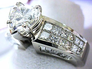 4.90 Carat Heart Shaped Diamond Engagement Solitaire SOLD