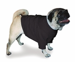 Pug Black Sweatshirt