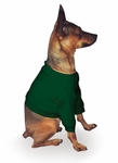 Miniature Dog Hunter Green Sweatshirt