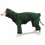 Italian Greyhound Hunter Windblock Hooded Fleece Bodysuit