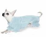Toy & Teacup Fleece Jammies - Baby Blue
