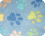 Toy & Teacup Fleece Jammies - Blue Paws
