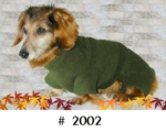 Dachshund Forest Fleece Bodysuit
