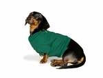 Dachshund Hunter Green Sweatshirt