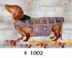Dachshund Plum Jazz Overcoat
