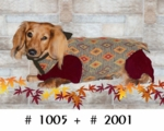Dachshund Desert Diamond Overcoat