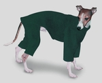 Italian Greyhound Hunter Fleece Outdoor Bodysuit