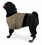 Pug Camel Fleeced Sweater