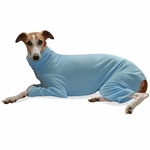 Whippet Blue Fleece Jammies