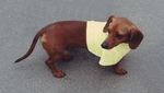 Dachshund Cream Yellow Lightweight Shirt