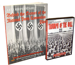 Triumph of the Will (Remastered IHF Deluxe Edition) DVD AND Behind the Scenes Book Combo Set - www.ihfhilm.com