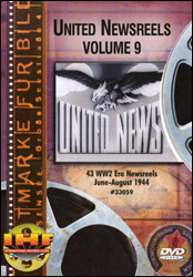 United Newsreels Volume 9 DVD - www.ihfhilm.com
