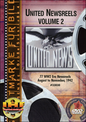 United Newsreels Volume 2 DVD - www.ihfhilm.com