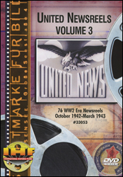 United Newsreels Volume 3 DVD - www.ihfhilm.com