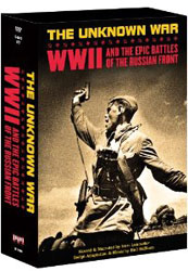The Unknown War: WW2 & The Epic Battles Of The Russian Front 5 DVD Set - www.ihfhilm.com