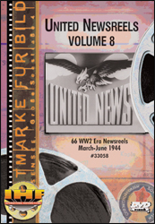 United Newsreels Volume 8 DVD - www.ihfhilm.com