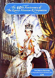The Official 40th Anniversary of the Queen's Accession & Coronation Souvenir Booklet - www.ihfhilm.com