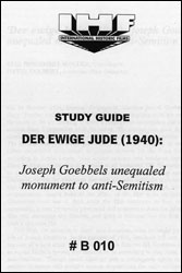 Eternal Jew Study Guide Book - www.ihfhilm.com