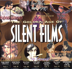 Golden Age Of Silent Films (VHS Tape) - www.ihfhilm.com