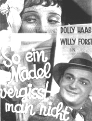 So Ein Mädel Vergisst Man Nicht (You Don't Forget A Girl Like That) (Dolly Haas, Willi Forst) (VHS Tape) - www.ihfhilm.com