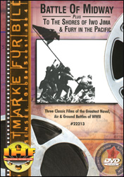 Battle Of Midway, To The Shores of Iwo Jima & Fury in the Pacific DVD - www.ihfhilm.com