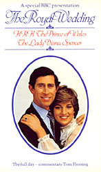 The Royal Wedding: The Prince of Wales and The Lady Diana Spencer (VHS Tape) - www.ihfhilm.com