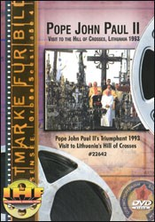 Pope John Paul II Visit to the Hill of Crosses, Lithuania 1993 DVD - www.ihfhilm.com