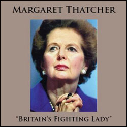 Margaret Thatcher: Britain's Fighting Lady CD - www.ihfhilm.com
