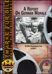 A Report On German Morale DVD - www.ihfhilm.com
