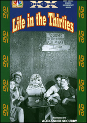 Life In The Thirties DVD - www.ihfhilm.com
