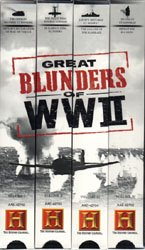Great Blunders Of WW 2 (VHS Tape) - www.ihfhilm.com