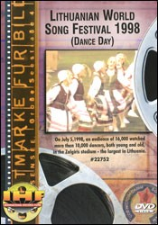 Lithuanian World Song Festival 1998 (Dance Day) DVD - www.ihfhilm.com