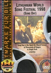 Lithuanian World Song Festival 1998 (Song Day) DVD - www.ihfhilm.com