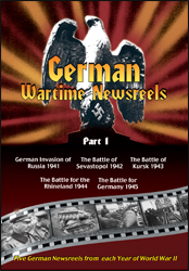 German Wartime Newsreels Part 1 DVD - www.ihfhilm.com