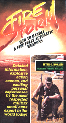 Fire Storm: How To Handle & Fire Fully Automatic Weapons (VHS Tape) - www.ihfhilm.com