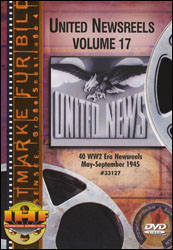 United Newsreels Volume 17 DVD - www.ihfhilm.com