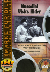 Mussolini Visits Hitler (Berlin Olympic Stadium, 1937)  DVD - www.ihfhilm.com